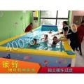 山东水上乐园室内游泳池设备厂家供亚克力婴幼儿游泳池设备组装池