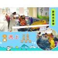 河北亚克力大拼接水育早教婴幼儿游泳池设备定制儿童游泳池设备
