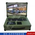 17寸工業便攜機機箱定制外殼工控一體機軍工電腦加固筆記本采集