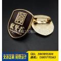 上海千响工艺,房地产公司徽章定制,上海企业公司标志勋章制作
