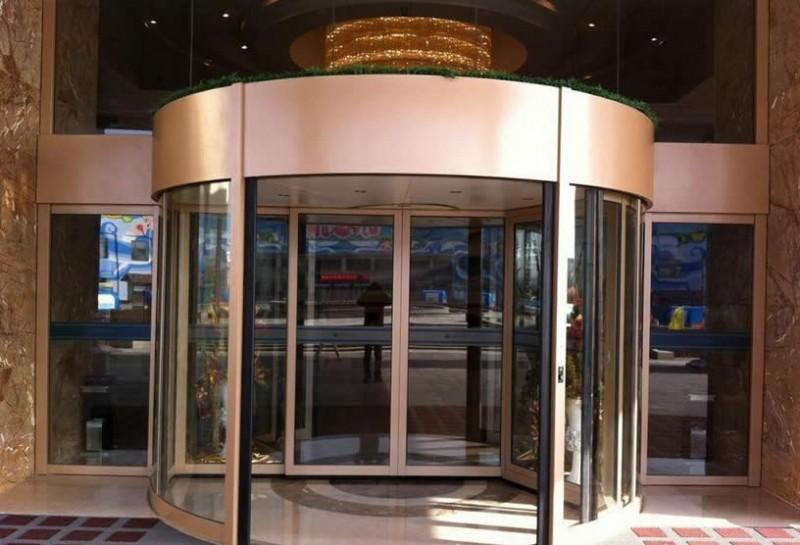 杭州玻璃转门价格