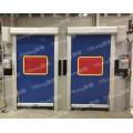 專業定制,默邦方案機器人安全高速門