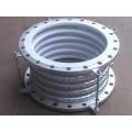 加工制造 不锈钢金属钢衬/网套四氟补偿器 橡胶膨胀节耐高温