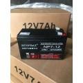 NP7-12電池6-FM-7蓄電池廠12V7AH電池廠家直銷