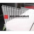 湖南長沙大唐新材雨棚雙層陽光板低價訂做廠家