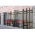 九江宿舍区防爬栏杆定做 小区花园防护栏 锌钢围墙栏杆