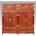 全套緬甸花梨書柜 中式古典緬甸花梨書柜 哈爾濱花梨書柜品牌