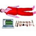 高级心肺复苏与创伤模拟人(计算机控制、二合一功能)