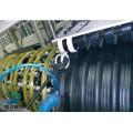 hdpe钢带增强缠绕管波纹管污水管1100