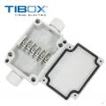 TIBOX  6P端子接线盒70*50*24mm安装盒