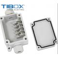 TIBOX电缆分线盒 50*102*40 mm塑料端子接线盒