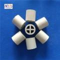 化工填料廠家直銷陶瓷散堆填料 陶瓷十字隔板環填料陶瓷十字環