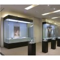 恒艺空间展览展示公司 沿墙柜 博物馆展柜 博物馆独立展柜