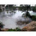 小区绿化带雾景人造雾