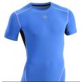 数码直喷锦纶高弹压缩衣紧身衣健身服一手货源