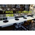 安徽省蚌埠市回转自助火锅设备 旋转小火锅设备报价多少钱一米