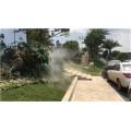 地产花园绿化带人造雾设备工作原理