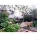 通宝别墅小区假山水池人造雾设备技术领先