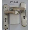 不锈钢门锁室内 卧室现代静音简约实木房门锁套装门执手锁通用型