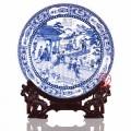 青花瓷盤定制陶瓷紀念盤