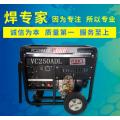 发电式焊机250A柴油风冷发电电焊机