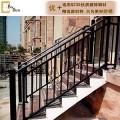 锌钢楼梯扶手别墅小区室外家庭楼梯