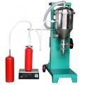 双头干粉灌装设备自动吸粉操作
