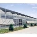 煜林枫新能源玻璃温室智能大棚 透光率高 使用寿命长