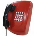 不锈钢壁挂电话, 金属外壳挂墙电话,壁挂防暴电话机