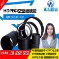 厂家直销淄博潍坊pe结构缠绕增强管b型pe中空壁缠绕管价格2