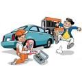 郑州汽车上门充气换备胎搭电帮车救援 汽车没气充气换胎电瓶搭