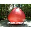 大型苹果雕塑 仿真水果雕塑定制厂家0