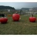大型苹果雕塑 仿真水果雕塑定制厂家2