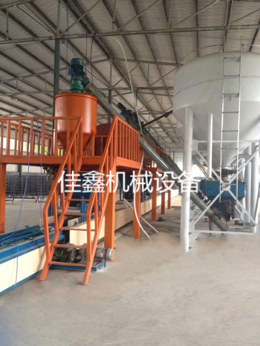FS免拆复合保温板设备自动化生产线作业产量大