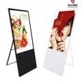 鑫飞立式广告机网络播放器电子水牌高清液晶电视一体机易拉宝展架