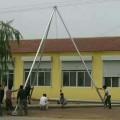 12米铝合金抱杆参数 15米铝合金立杆机图片
