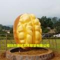深圳玻璃钢核桃雕塑定制价格优惠多多厂家