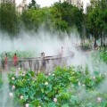 游乐园公园广场冷雾人造雾系统工程