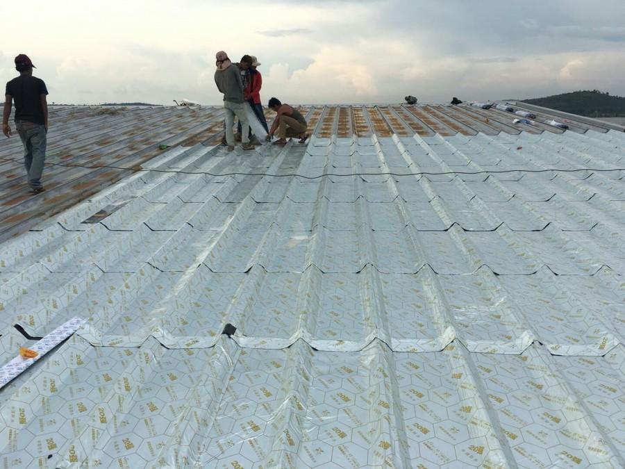 彩钢瓦屋面防水施工方案