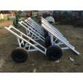 12米电线杆拖车 15米电杆运杆车