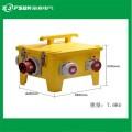 黄色户外移动配电箱 24位PC塑料防水工业插座组合配电箱