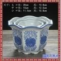 陶瓷花盆容器  陶瓷花盆大号   陶瓷花盆批发正方形