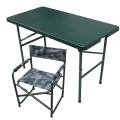 軍綠色戶外演練指揮作業折疊桌椅 衛生應急指揮折疊桌椅