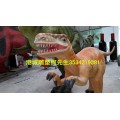 玻璃钢仿真恐龙雕塑成生态旅游景区展览品