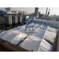 好氧池保温加盖—供应商—-悬吊膜密封-反吊膜加盖除臭密封保温