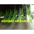 彩绘玻璃钢蜻蜓雕塑落户湖南郴州