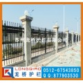 杭州厂区围墙栏杆 杭州围墙护栏价格 龙桥护栏专业生产