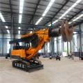 小型旋挖钻机可打15米深大孔径旋挖钻机 土层施工钻机
