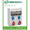 挂壁式工业插座箱 三相电户内外工地检修防水配电箱