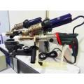 天智达 手提式塑料挤出焊枪 瑞士莱丹3400W热风机